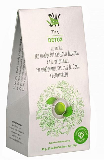 Zobrazit detail výrobku Body Wraps s.r.o. BW Tea Detox - Bylinný čaj pro detoxikaci organismu a udržování kyselosti žaludku 20 sáčků