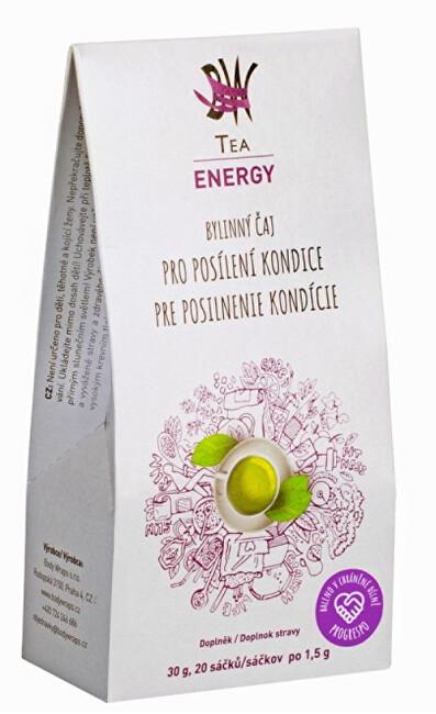 Zobrazit detail výrobku Body Wraps s.r.o. BW Tea Energy - Bylinný čaj pro posílení kondice 20 sáčků