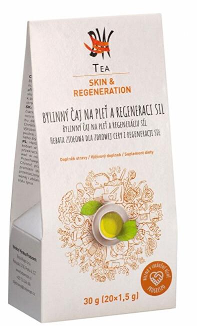 Zobrazit detail výrobku Body Wraps s.r.o. BW Tea Skin&Regeneration - Bylinný čaj na pleť a regeneraci sil 20 sáčků