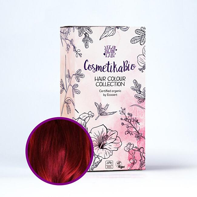 Zobrazit detail výrobku Cosmetikabio Cosmetikabio Hennová barva, vínově červená 100 g