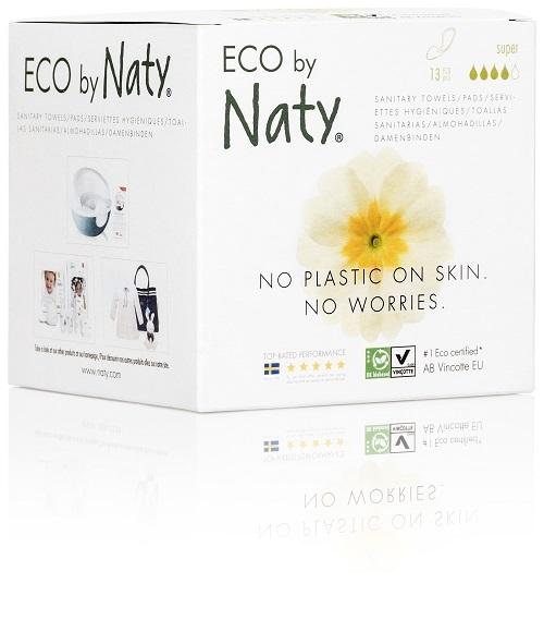 Eco by Naty Dámské ECO vložky Naty (13 ks) - super
