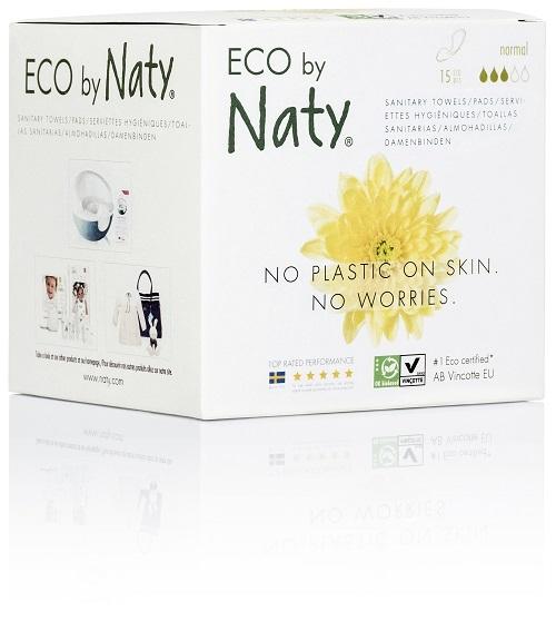 Eco by Naty Dámské ECO vložky Naty (15 ks) - normal