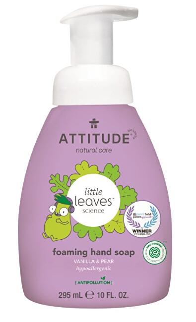 Zobrazit detail výrobku ATTITUDE Dětské pěnivé mýdlo na ruce ATTITUDE Little leaves s vůní vanilky a hrušky 295 ml