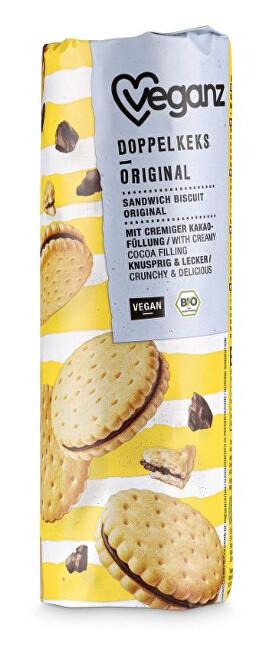 Zobrazit detail výrobku Veganz Dvojité sušenky originál, Bio 400 g