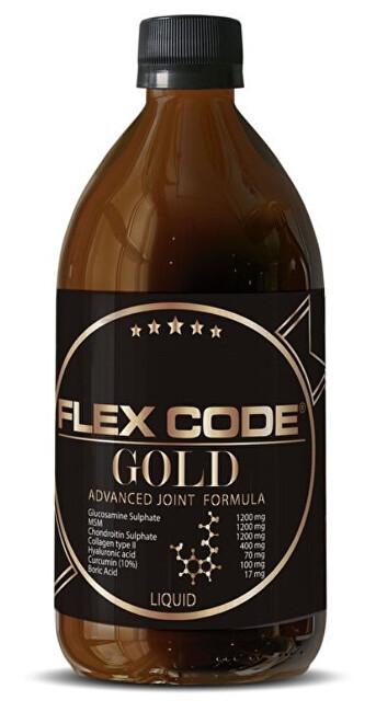 Zobrazit detail výrobku Elanatura Flex Code Gold 500 ml - kloubní výživa