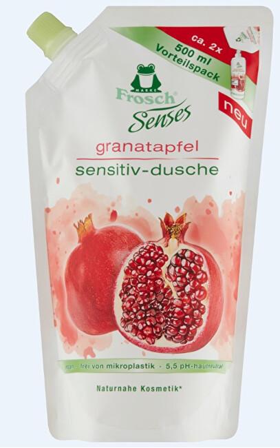 Frosch Frosch EKO Senses Sprchový gel Granátové jablko - náhradní náplň 500 ml