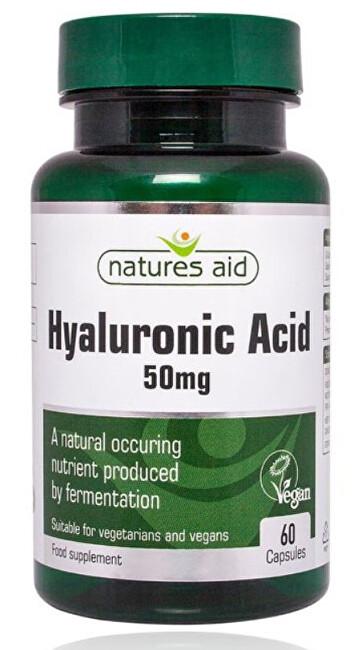 Zobrazit detail výrobku Natures Aid Hyaluronát sodný 50 mg - cps.60 - na klouby