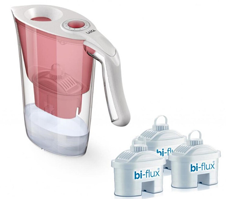 Laica J9065A1 Aida SET + 3 filtry  konvice na vodu pro filtraci vody