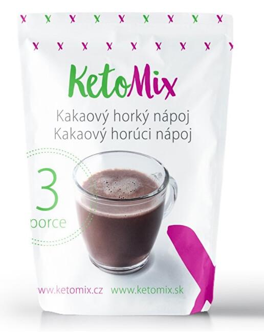 Zobrazit detail výrobku KetoMix Kakaový horký nápoj 3 porce 90 g