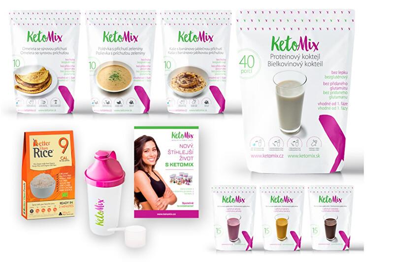 Zobrazit detail výrobku KetoMix Ketonová dieta na 2 týdny
