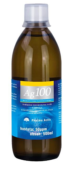 Zobrazit detail výrobku Pharma Activ Koloidní stříbro Ag100 (50ppm) 500 ml