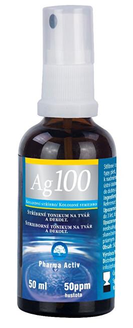 Pharma Activ Koloidní stříbro Ag100 (50ppm) 50ml SPRAY
