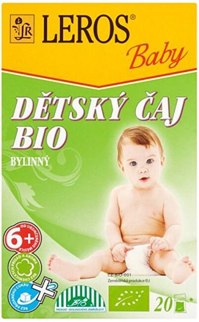 LEROS LEROS Baby BIO Dětský čaj bylinný 20 x 2 g