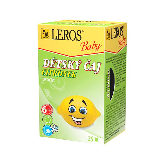 Zobrazit detail výrobku LEROS LEROS Baby Dětský čaj Citrónek 20 x 2 g