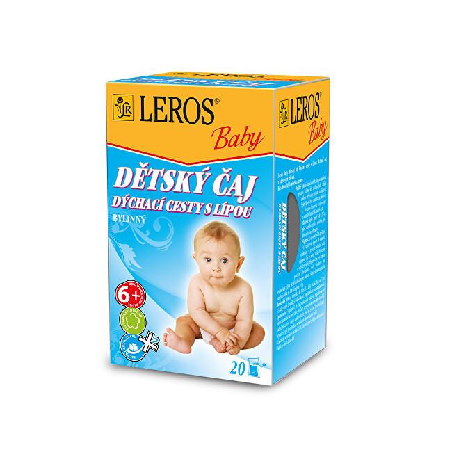 Zobrazit detail výrobku LEROS LEROS Baby Dětský čaj Dýchací cesty s lípou 20 x 2 g