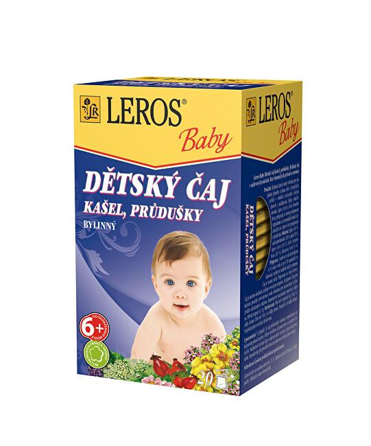 Zobrazit detail výrobku LEROS LEROS Baby Dětský čaj Kašel, průdušky 20 x 1.5 g