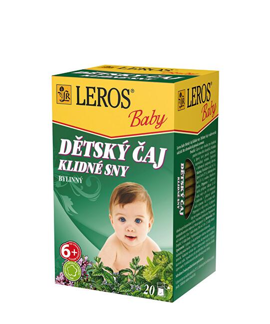 Zobrazit detail výrobku LEROS LEROS Baby Dětský čaj Klidné sny 20 x 1.5 g