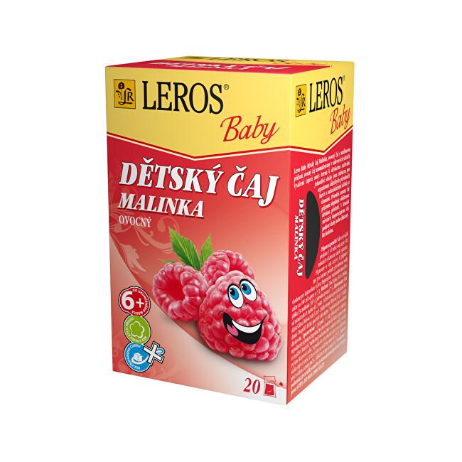 Zobrazit detail výrobku LEROS LEROS Baby Dětský čaj Malinka 20 x 2 g