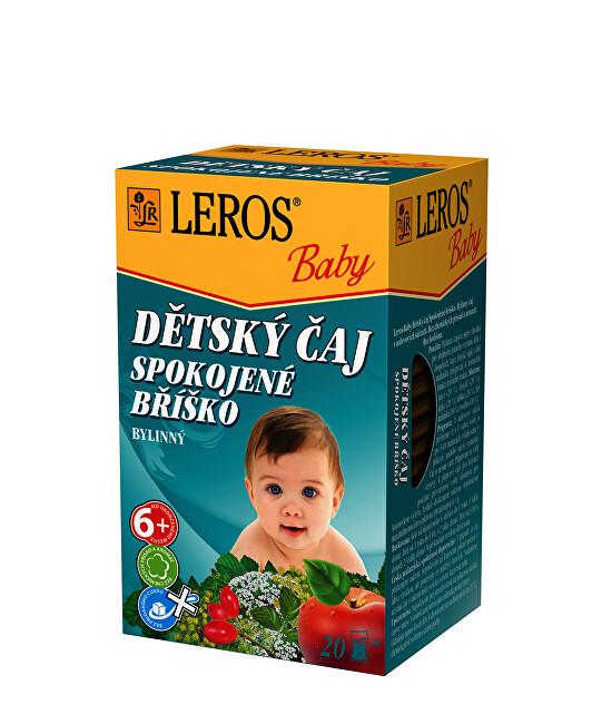 Zobrazit detail výrobku LEROS LEROS Baby Dětský čaj Spokojné bříško 20 x 2 g