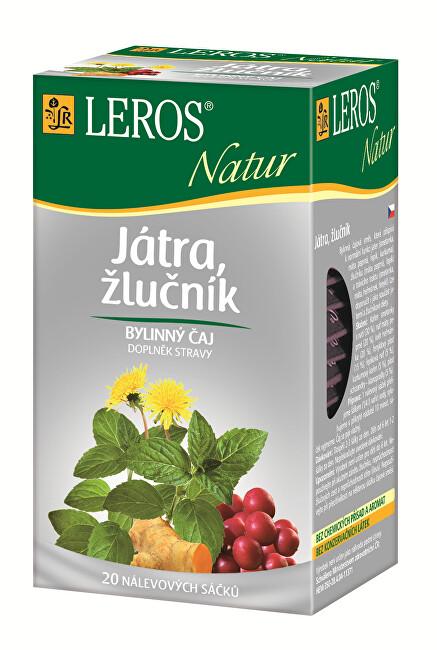 Zobrazit detail výrobku LEROS LEROS Natur Játra, žlučník 20 x 1.5 g