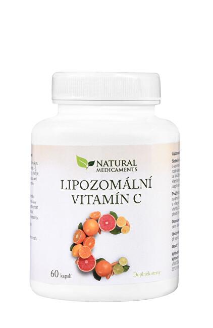 Natural Medicaments Lipozomální vitamín C 60 kapslí
