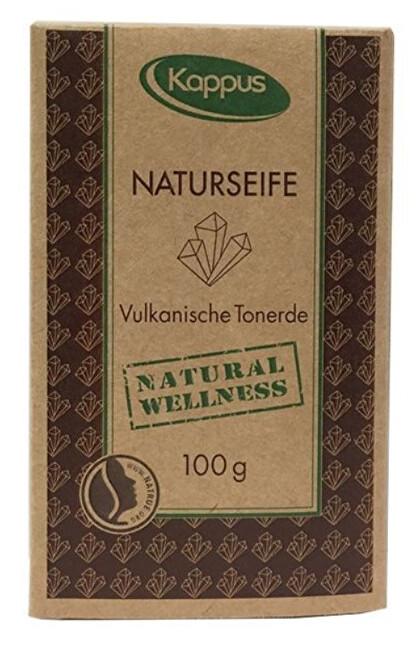 Kappus Natural wellness mýdlo 100 g 3-1423 Vulkanická hlína