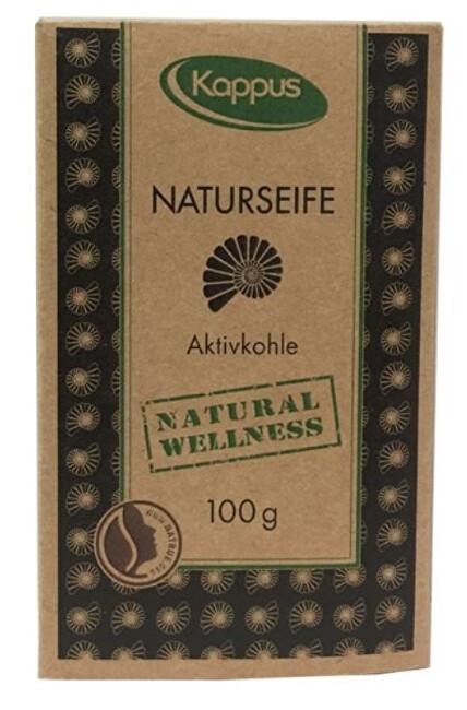 Zobrazit detail výrobku Kappus Natural wellness mýdlo 100 g 3-1425 Aktivní uhlí