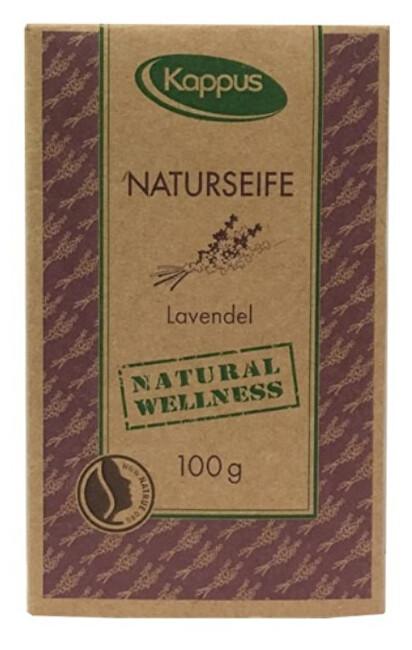 Kappus Natural wellness mýdlo 100 g 3-1422 Levandule