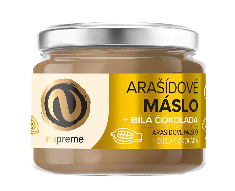 Zobrazit detail výrobku Nupreme Nupreme Arašídové máslo s bílou čokoládou 220 g