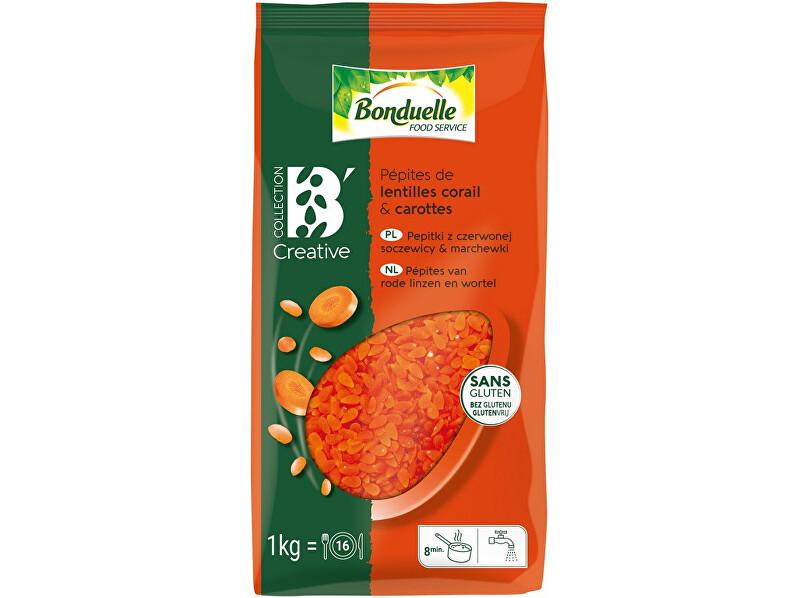 Zobrazit detail výrobku Bonduelle Pepitky z červené čočky a mrkve 1kg