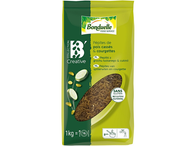 Zobrazit detail výrobku Bonduelle Pepitky z hrášku a cukety 1kg