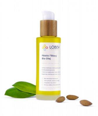 Lobey Pěstící tělový olej BIO 100 ml