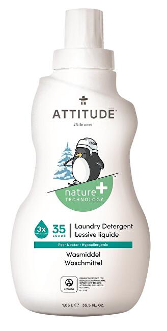 Zobrazit detail výrobku ATTITUDE Nature+ Prací gel pro děti ATTITUDE s vůní hruškové šťávy 1050 ml (35 pracích dávek)