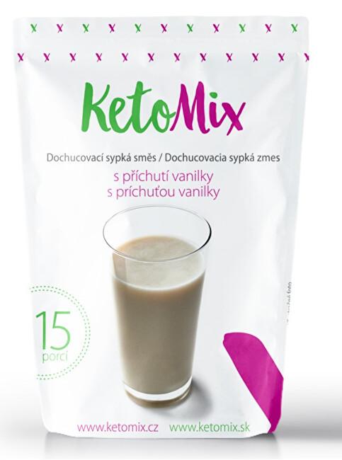 Zobrazit detail výrobku KetoMix Příchuť ke koktejlu - vanilka 45g
