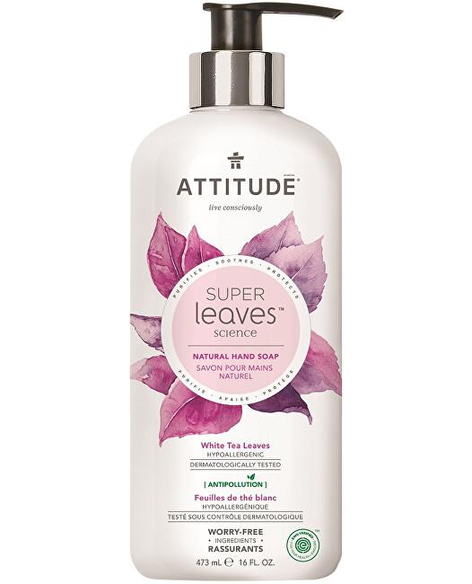 Zobrazit detail výrobku ATTITUDE Přírodní mýdlo na ruce ATTITUDE Super leaves s detoxikačním účinkem - čajové listy 473 ml