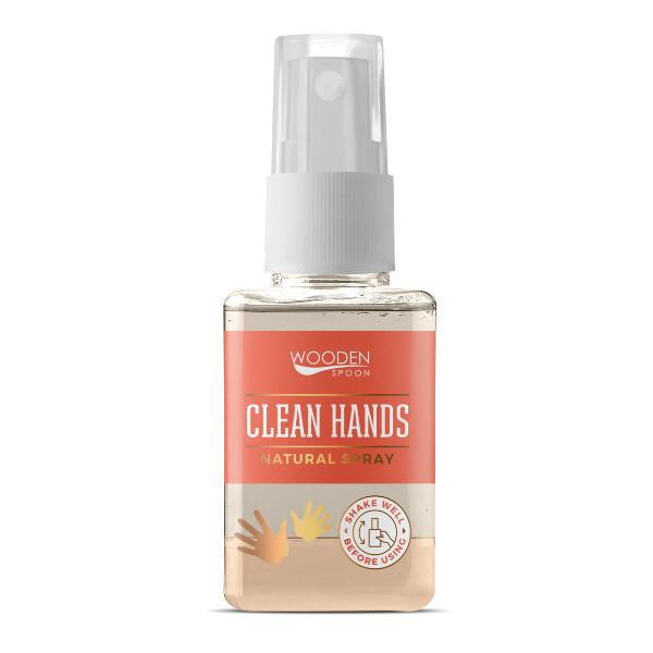 Zobrazit detail výrobku WoodenSpoon Přírodní čisticí sprej na ruce WoodenSpoon 50 ml