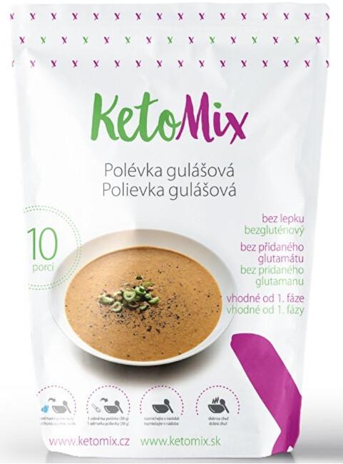 Zobrazit detail výrobku KetoMix Proteinová polévka 300 g (10 porcí) - gulášová