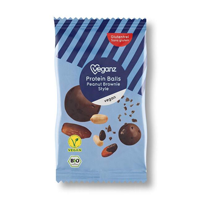 Zobrazit detail výrobku Veganz Proteinové kuličky arašídové, Bio 50 g