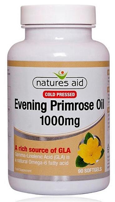 Zobrazit detail výrobku Natures Aid Pupalka dvouletá 1000 mg - 90 tobolek