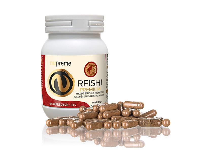 Zobrazit detail výrobku Nupreme Reishi extract 30% 100 kapslí