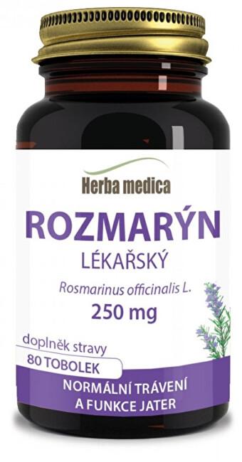 Zobrazit detail výrobku HerbaMedica Rosmaria - Rozmarýn lékařský - 80 pilulek