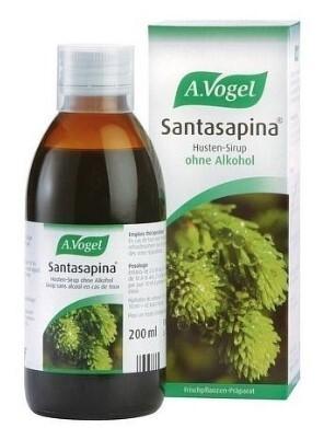 A.Vogel Santasapina – sirup z čerstvého smrku - na kašel 200 ml