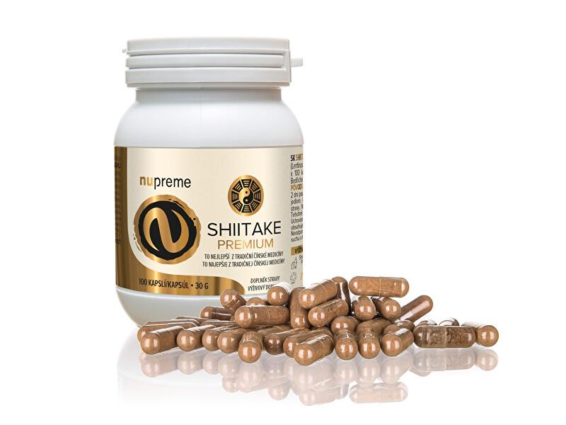 Zobrazit detail výrobku Nupreme Shiitake extract 30% 100 kapslí