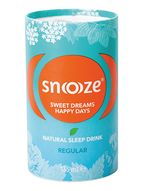 Zobrazit detail výrobku SNOOOZE Snoooze Regular 135 ml - bylinný přípravek ke zkvalitnění spánku