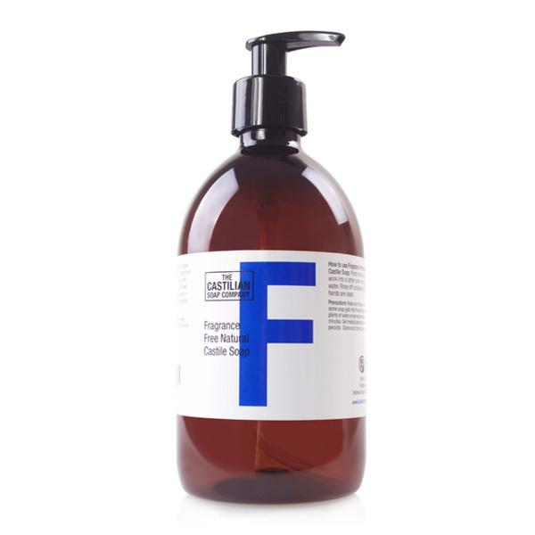 The Castilian Soap Company The Castilian Soap Company Kastilské mýdlo bez parfemace 500 ml