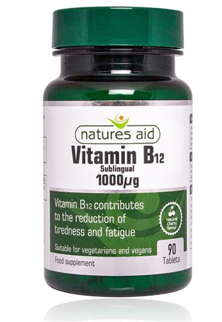 Zobrazit detail výrobku Natures Aid Vitamin B12 - 1000 mcg - sublingvální 90 tablet