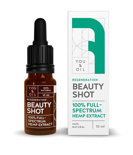 You & Oil You & Oil Beauty Shot 100% Regenerační konopné sérum 10 ml