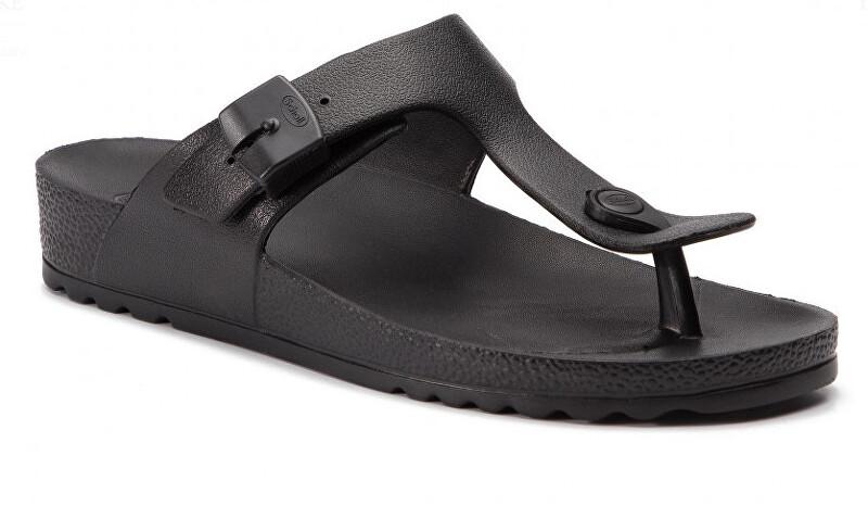 Scholl Zdravotní obuv - BAHIA FLIP-FLOP - Black 37