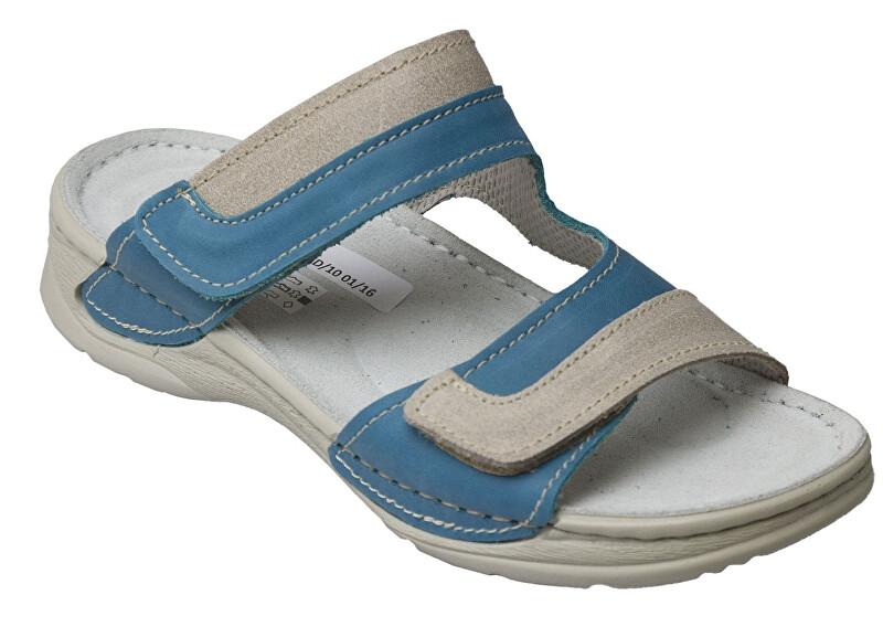 Zobrazit detail výrobku SANTÉ Zdravotní obuv Dámská - D/12/87/S12/SP TYRKYSOVÁ 37