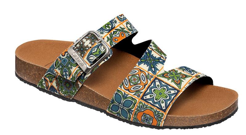 Zobrazit detail výrobku Scholl Zdravotní obuv - GREENY RANJA - Green/orange 40
